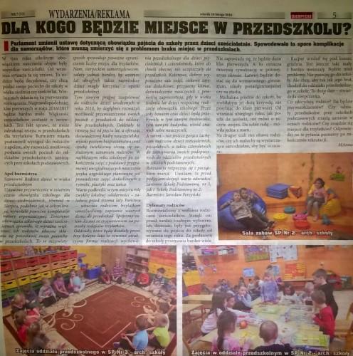 Nowy Tygodnik Sierpecki 16.02.2016r.